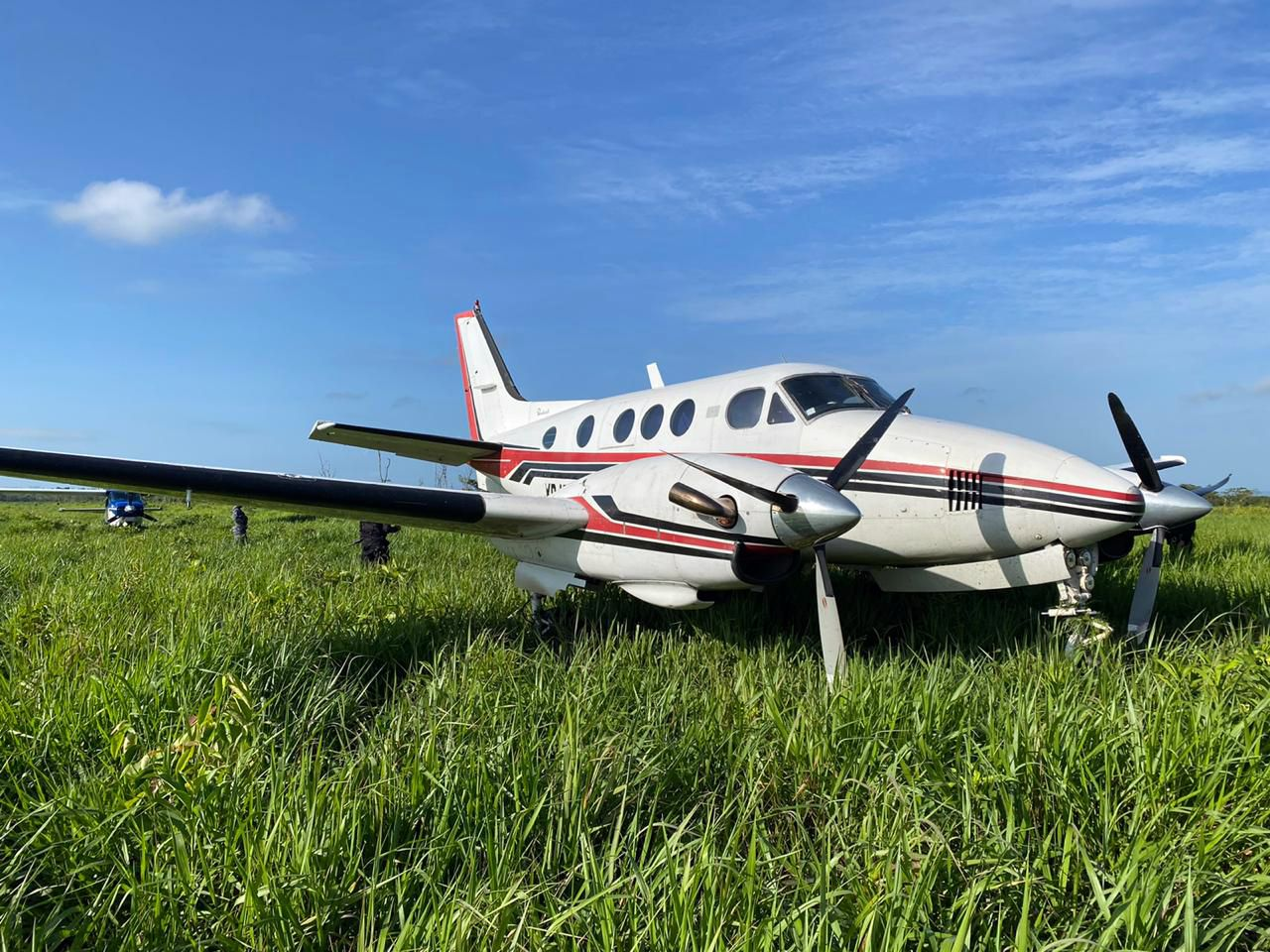 Suspicious aircraft found in marshes of Petén, Guatemala