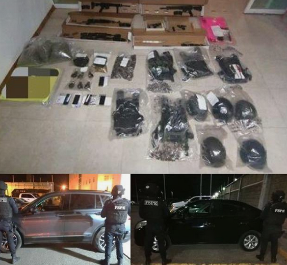 Seven Alleged Members of CJNG Arrested in Celaya