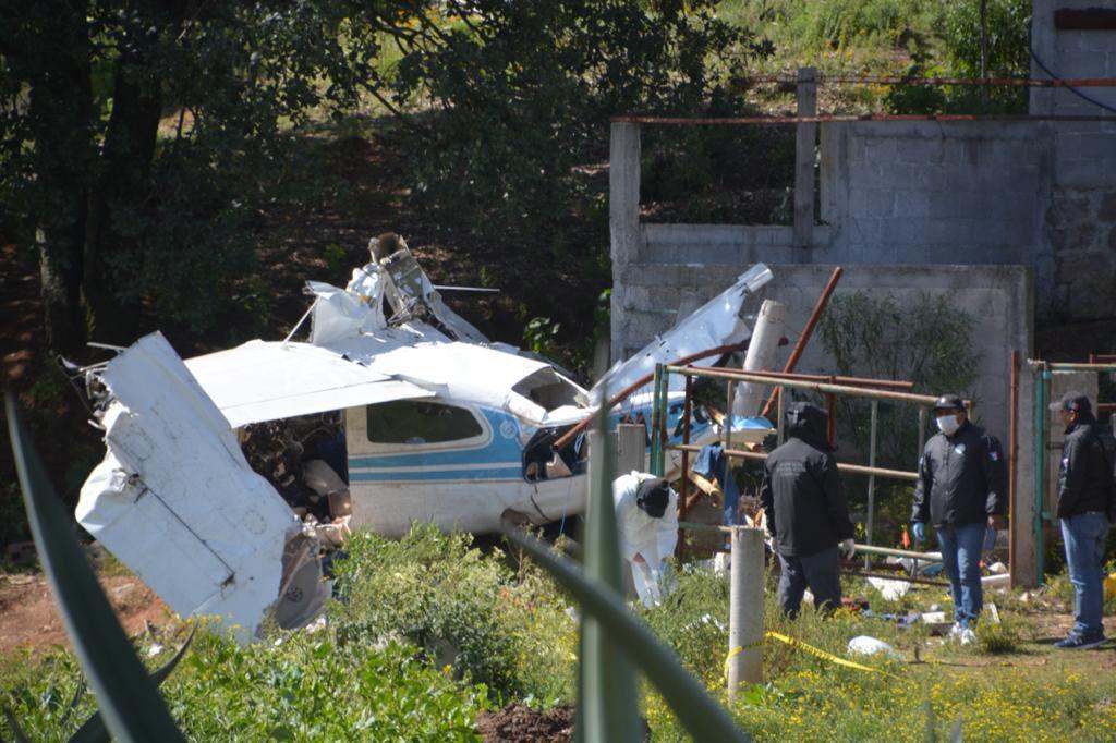 Plane Transporting 400 Kilos of Cocaine Crashes in Querétaro