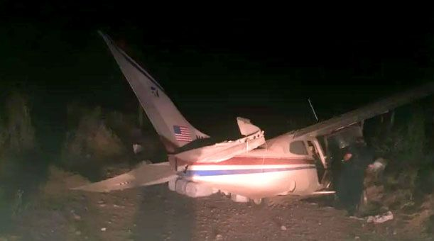 Suspicious Cessna Crashes in Sinaloa