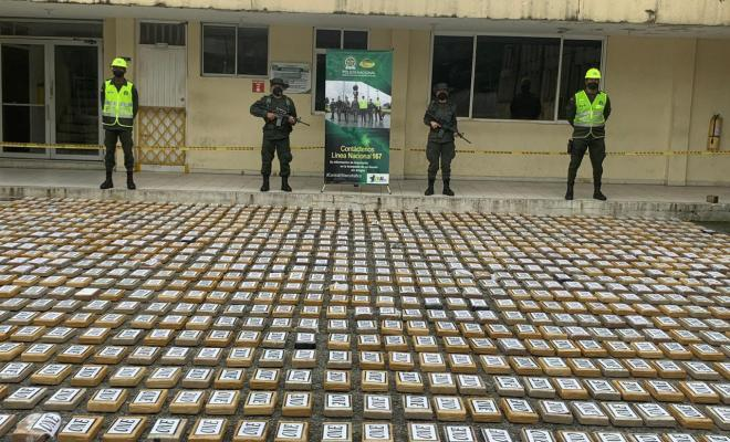 Just Over 1600 Kilos of Cocaine Headed for Belgium Seized at Colombian Port