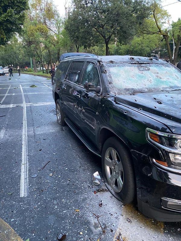 Attempted assassination on Mexico City Police chief Omar Garcia Harfuch