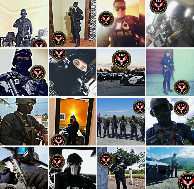 The Little-Known Social Media Accounts of Tamaulipas' Elite State Police Force